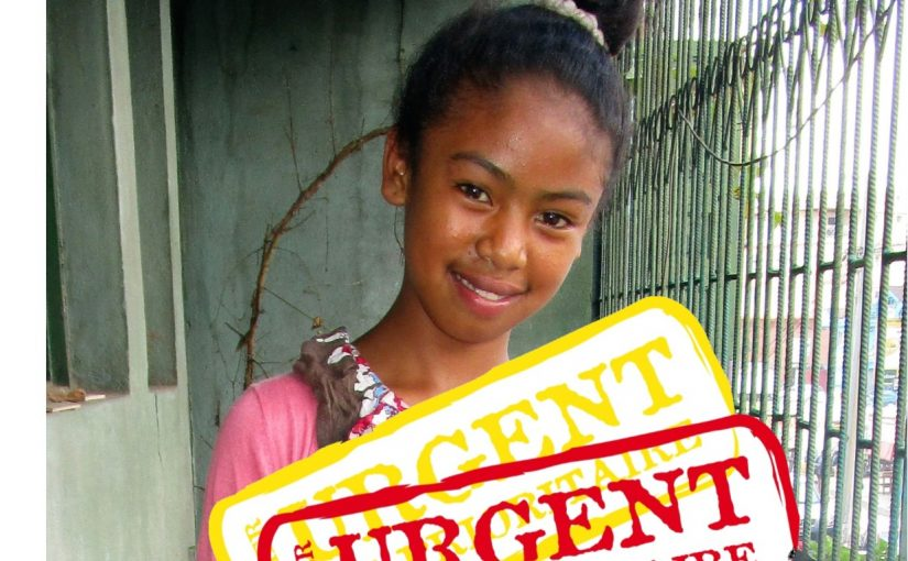 HASINA – 12 ans (F) – MADAGASCAR