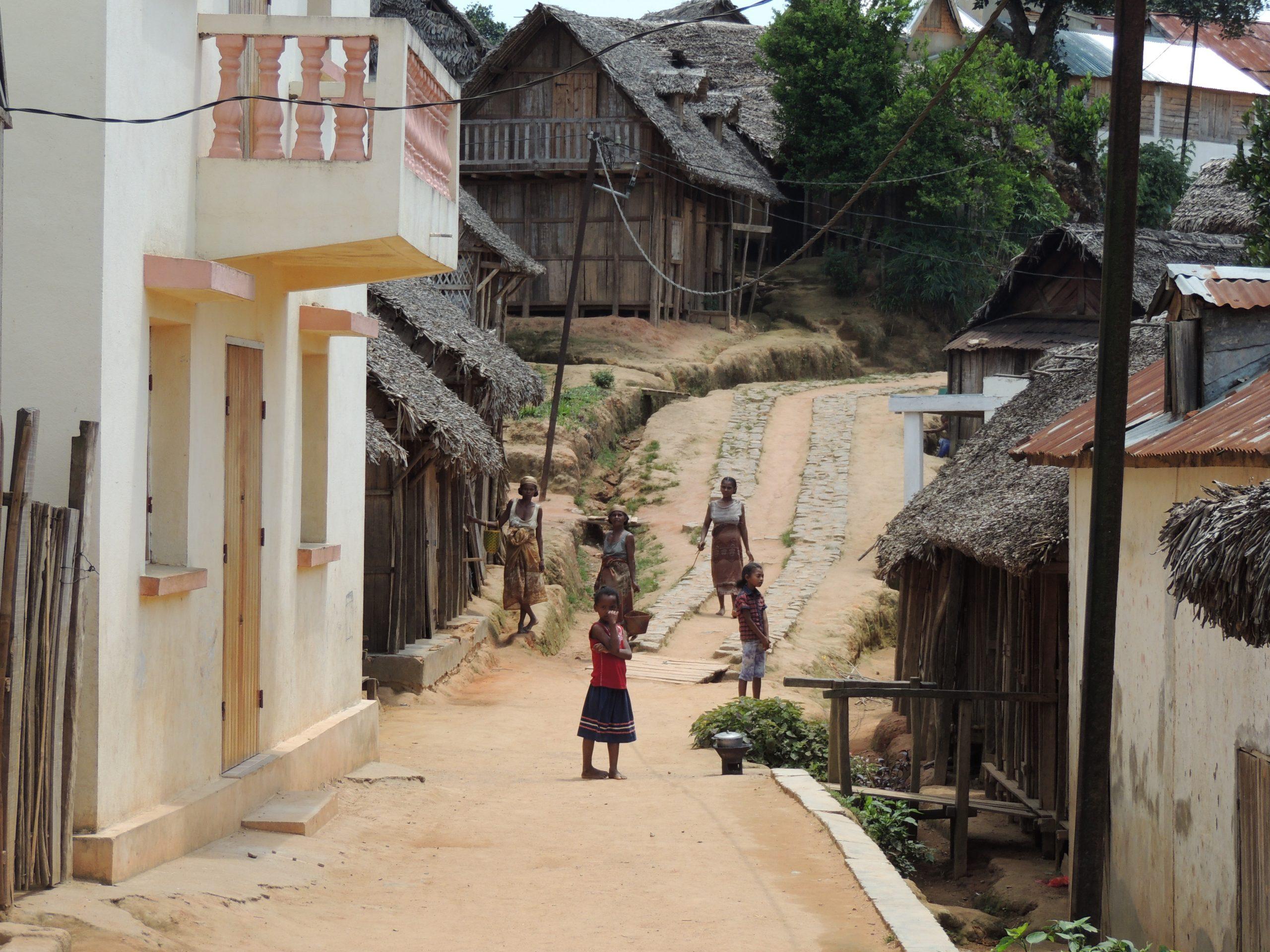 Incendie à Ankaramalaze (Madagascar)
