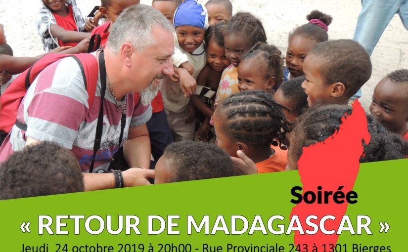 Retour sur la soirée de Madagascar