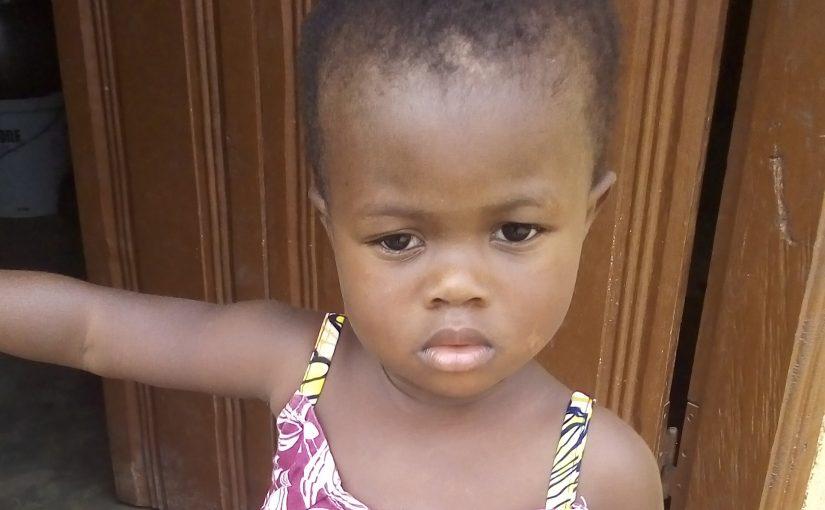 Abigaël – 3 ans (F) – Togo