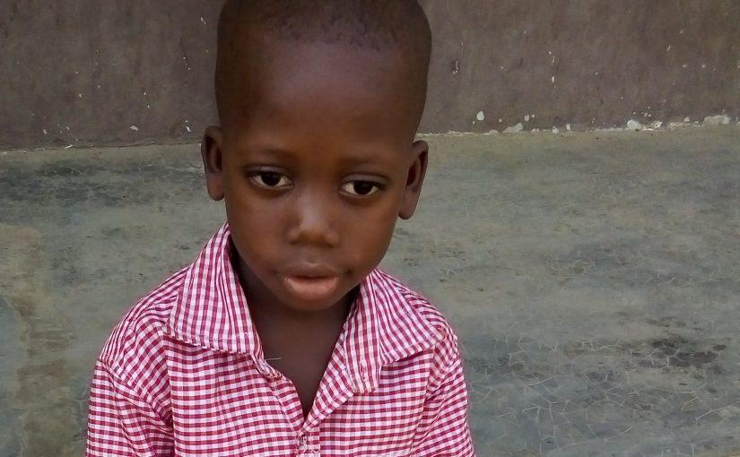 Caleb – 5 ans (G) – TOGO