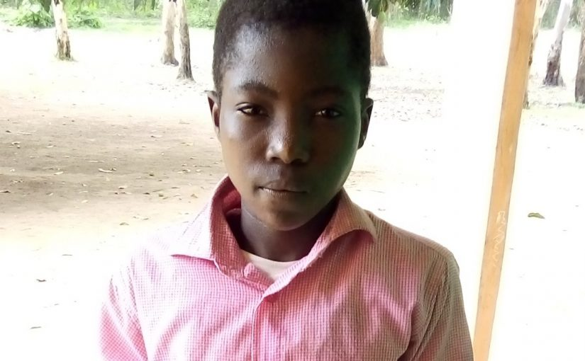 Donné – 13 ans (G) – Togo