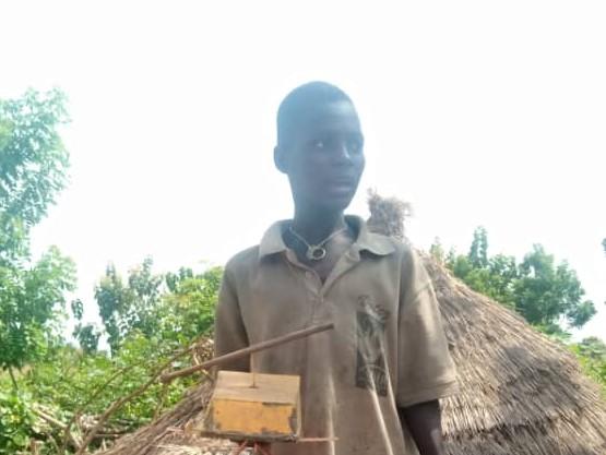 Naggna – 10 ans (G) – Togo Soleil des Nations
